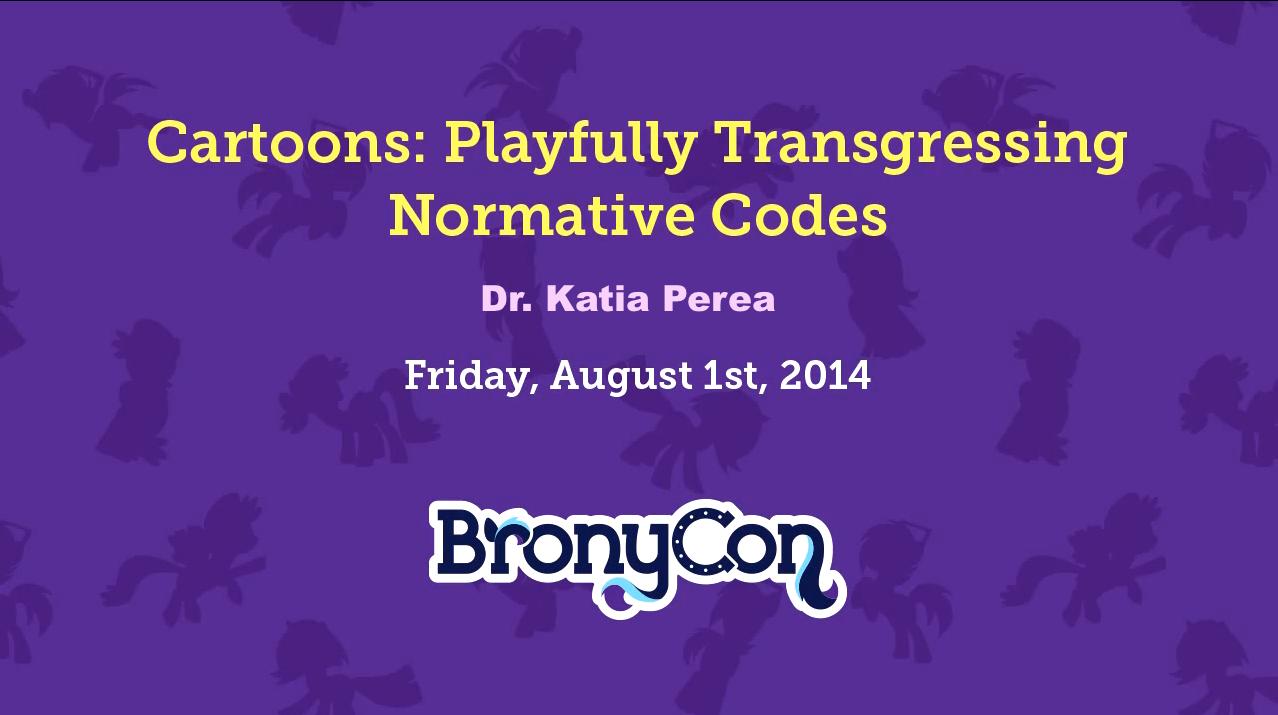 BronyConPresentation2014